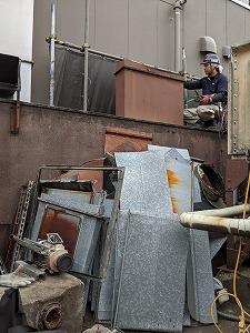 東京都,原状回復,ダクト撤去